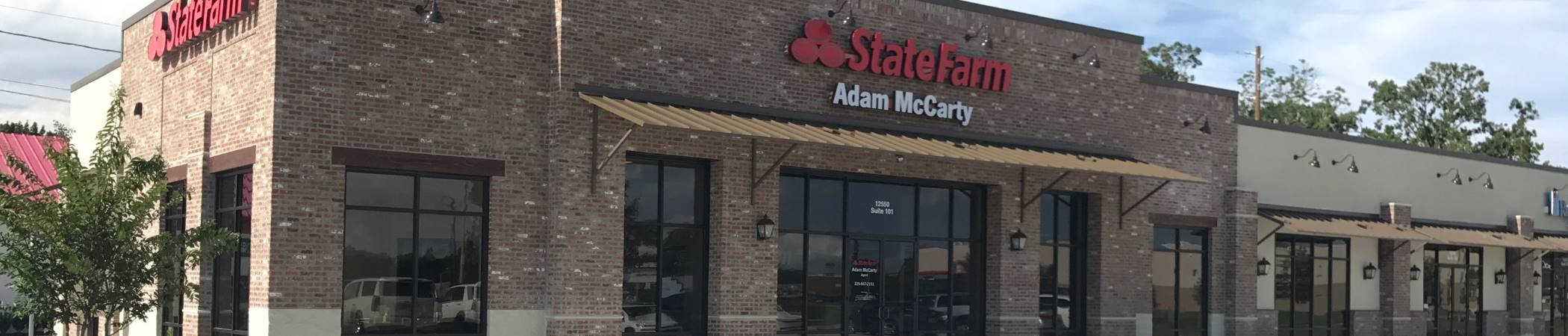 Adam McCarty State Farm Insurance in Gonzales, LA | Home, Auto Insurance & more
