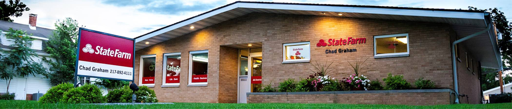 Chad Graham State Farm Insurance in Rantoul, IL | Home, Auto Insurance & more